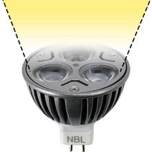 12V 6W Warm White LED MR16 Flood Light Bulb