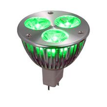 Green LED Wide Spot MR16 Light Bulb