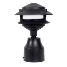 2 Tier Pagoda Post Light PPC349 (shown in black)