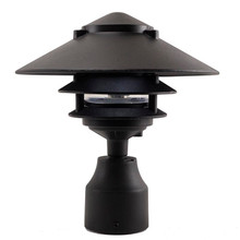 3 Tier Pagoda Post Light PPC351 in Black