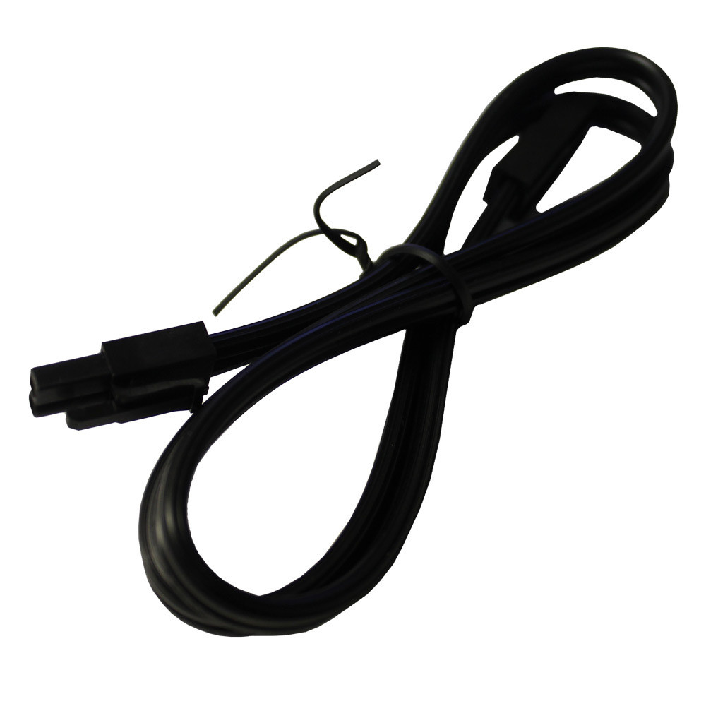 18 Inch Black Puck Light Jumper Cable