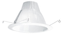 "120v 6"" AirTight Baffle Recessed Lighting Trim White"