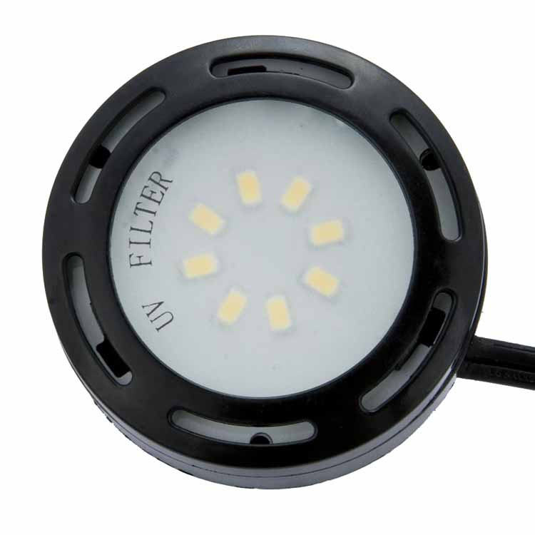 120v led single puck under cabinet light kit led cph 120 by amax. Black Bedroom Furniture Sets. Home Design Ideas