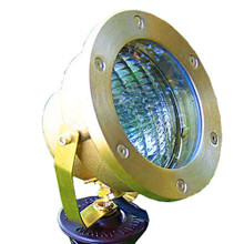 Raw Brass Submersible Floodlight PS003