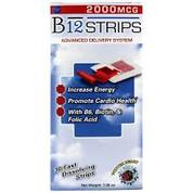 B12 Strips 2000 mcg 30 strips