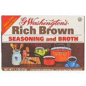 G Washington Rich Brown Seasoning and Broth 1.1 oz