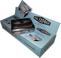 Automatic Tobacco Roller Box Cigarette Roll Rolling Machine Stainless Steel Case For Standard Size Rolling Cigarettes (70mm. X 36mm.) This Price is for Six Units Per Box