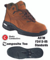 Steel Toe, Conductive High Performance ESD Hiker - Mens
