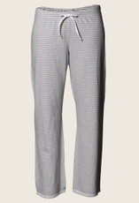 Boob Pyjama  pants stripe grey/offwhite