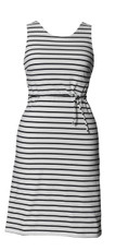 Boob Nursing/Maternity Dress Simone sleeveless wht/black