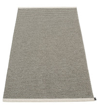 Pappelina Mono Rug Charcoal/Warm Grey