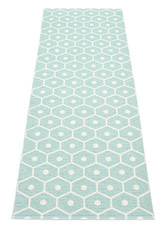 Pappelina Honey Rug Pale Turquoise/Vanilla