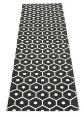 Pappelina Honey Rug Black/Vanilla