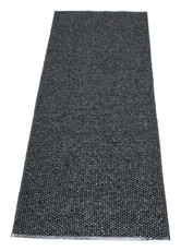 Pappelina Svea Rug Black Metallic/Black