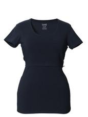 Boob Nursing Top Short Sleeve Midnight blue