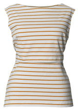 Boob Maternity/Nursing Tanktop Simone - honeydew stripe