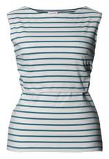Boob Maternity/Nursing Tanktop Simone - greenpool stripe