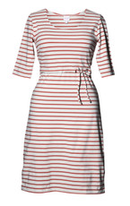Boob Simone Maternity/Nursing Dress 3/4 Sleeves - Watermelon Stripe