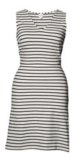 Boob Nursing/Maternity Dress Simone sleeveless black stripe