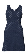 Boob Maternity/Nursing Dress Dot - Navy