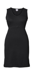Boob Maternity/Nursing Dress Audrey - Black