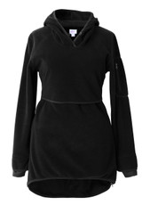 Boob Ready Flex Fleece Maternity/Nursing Sweater - black