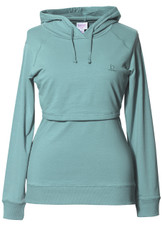 Boob Design B-Warmer Maternity/Nursing Hoodie - nile blue