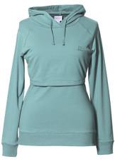 Boob Design B-Warmer Maternity/Nursing Hoodie - nile blue