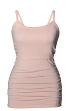 Boob Design Maternity/Nursing Singlet Ruched - Pale Blush