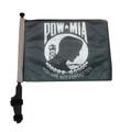 POW MIA Golf Cart Flag with Pole