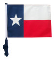 STATE of TEXAS Golf Cart Flag with Pole