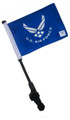LICENSED US AIR FORCE Small 6x9 Golf Cart Flag with SSP EZ Pole