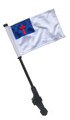 CHRISTIAN Small 6x9 Golf Cart Flag with SSP EZ Pole