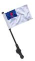 CHRISTIAN Small 6x9 Golf Cart Flag with SSP EZ Pole