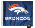 DENVER BRONCOS Flag with 11in.x15in. Flag Variety