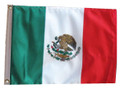 Mexico 11in X 15in Flag with GROMMETS
