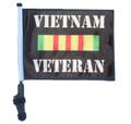 Vietnam Veteran Golf Cart Flag with Pole