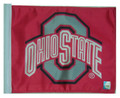 Ohio State Buckeyes Flag - Red Background 11in.x15in.