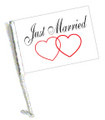 JUST MARRIED FLAG 11in.x15in.