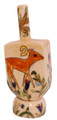 Ceramic Karshi Dreidel + Stand  - Animals (DR-5943)