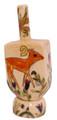 Ceramic Karshi Dreidel + Stand  - Animals (DR-5943)