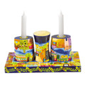 Jerusalem Wooden Shabbat and Havdallah Set