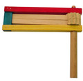 Purim Wood Large Colored GR-W4