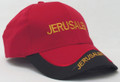 Red and Black Cap - Jerusalem (I-IC#20)