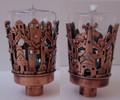 Neronim for Parafin lighting - Brass Jeweled