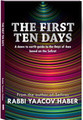 The First Ten Days: A down to earth guide to the Days of Awe based on the Sefirot