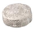 Silver Jerusalem Hand Embroidered Hat