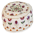 Hand Embroiderey Hat - Pomegranates gold