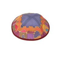 Emanuel Silk Painted Kippa