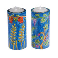 Emanuel Hand Painted Candlesticks